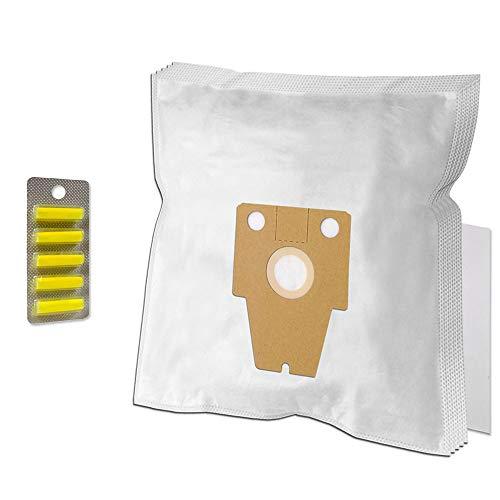 PakTrade Set - 5 Duftstäbchen + 5 Staubsaugerbeutel Für Bosch BSG8PRO 1, BSG81000, BSG81030 Ergomaxx Professional