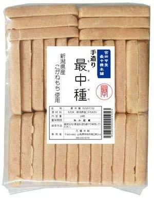 老舗の謹製 最中種(もなかの皮)30枚x3セット(型おまかせ) 職人の手作り 新潟こがねもち100%使用