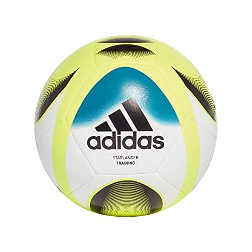 Adidas, Starlancer Trn , Pallone Da Calcio, Bianco / Verde A