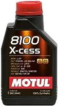 Motul 102784-12 8100 X-Cess 5W-40 Oil, (Case of 12)
