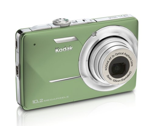 Kodak EasyShare M340 10MP Digital Camera with 3x Optical Zoom and 2.7 inch LCD (Green)