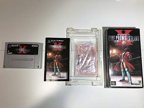 Super Fire Pro Wrestling X - Super Famicom