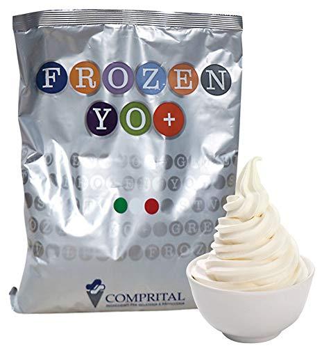 COMPRITAL kg 1,5 Frozen Yogurt per Macchina da Yogurt Gusto Delicato Soft