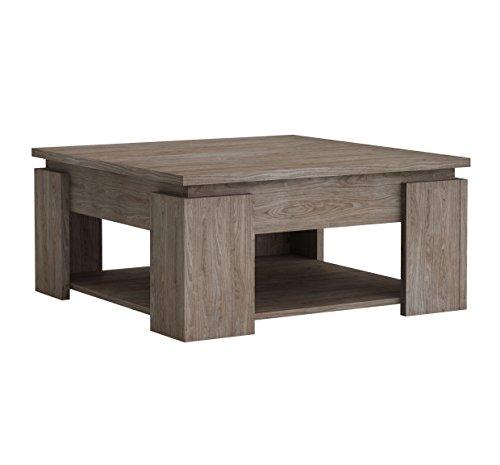 Delamaison Bastille Table, Bois, Multicolore