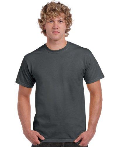 Gildan - Maglietta modello Ultra 2000, Unisex, Charcoal, L