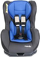 مقعد سيارة للاطفال كوزمو اس بي جروب من نانيا - اسود وازرق