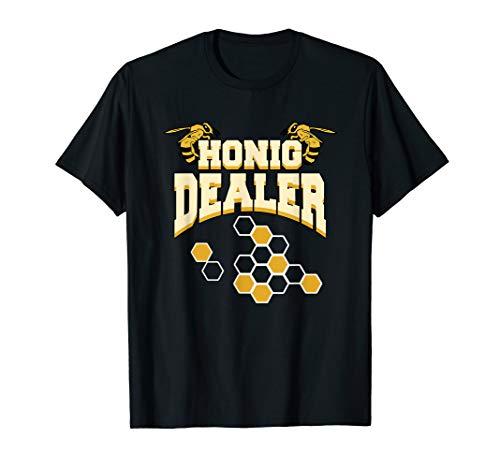 Honig Dealer Bienen Bienenliebe Honey Gärtner Imker Honig T-Shirt