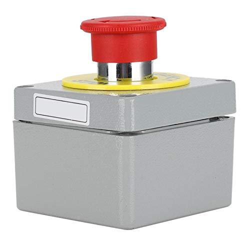 Caja de interruptores de Parada de Emergencia de la Caja de Botones con aleación de Aluminio(80 * 75 * 60)