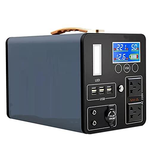 Generatore di Corrente Banca di Alimentazione Portatile, Motore Ad Alta Potenza con Ricarica Veloce, Generatore di 1500w per Piccoli Elettrodomestici(Color:600000mAh 1500W)