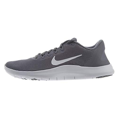 Nike Women's Flex RN 2018 Running Shoe (9.5, Cool Grey/Cool White)