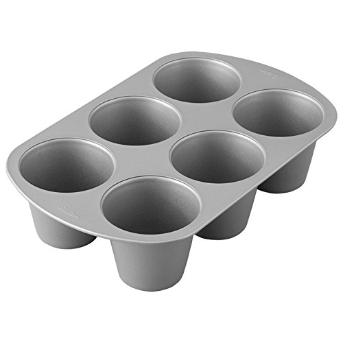 Wilton Giant Cupcake Pan, 6-Cup Jumbo Muffin and Cupcake Pan