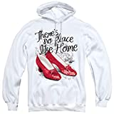 Wizard Of Oz Ruby Slippers Unisex Adult Pull-Over Hoodie, White, Large