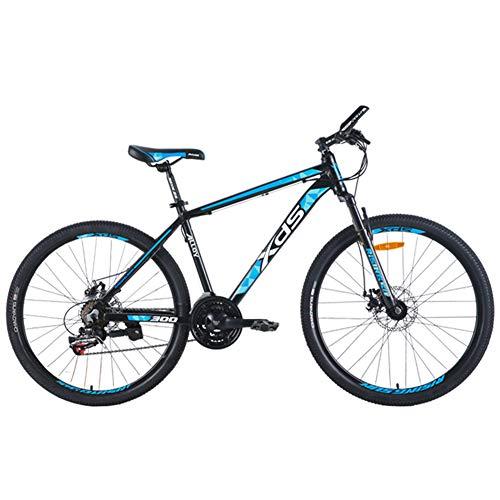 Nengge Mountainbike, 26 inch hardtail MTB, 21 versnellingen, aluminium frame, fiets met schijfremmen, jongens-fiets meisjesfiets