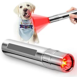 Pet Red Light Therapy Petneces Infrared Light Therapy 3 LED 630nm 660nm 850nm Red Light Device for Skin and Joint & Muscle Pain Relief