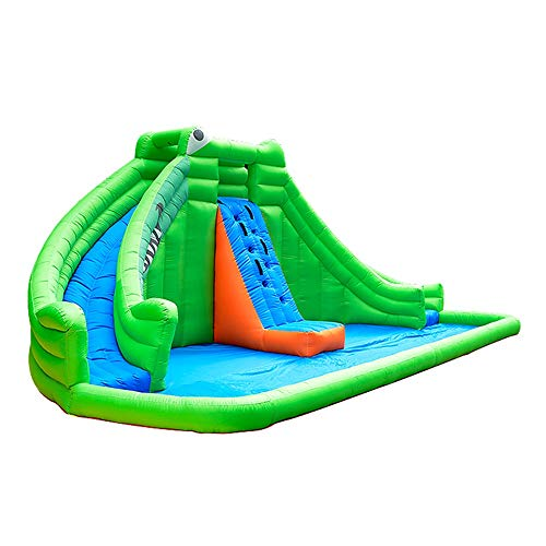 Bouncy Castle Inflatable Bounce House Castle Trampoline With Blower Obstacle Slides PVC Inflatable Games Bouncy House 690x400x280cm Playhouse Bouncer