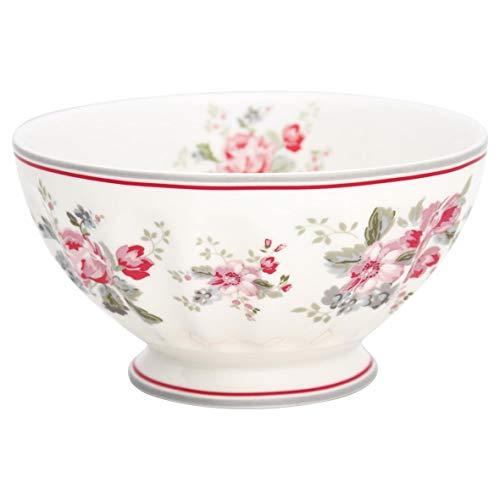 GreenGate - Schale - Schüssel - French Bowl - XLarge - Elouise - White - Porzellan