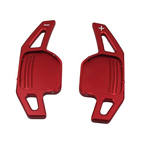 YXSMFX Auto Stuurwiel Shift Paddle Shifter Fit, Voor Audi A3 A4 A4L A5 A6 A7 A8 Q3 Q5 Q7 TT S3 R8 Rode Kleur Auto Vervangende Onderdelen