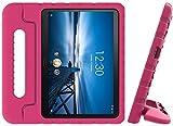 Golden Sheeps Étui compatible avec tablette Android Walmart Onn 8' (modèle ONA19TB002) 2019 - Anti-chocs - Ultra léger - Poignée convertible rose