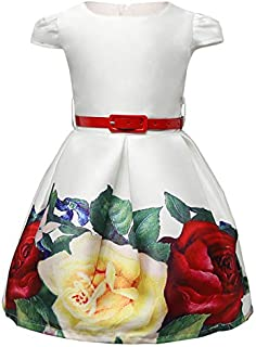 Satin Casual Dress For Girls