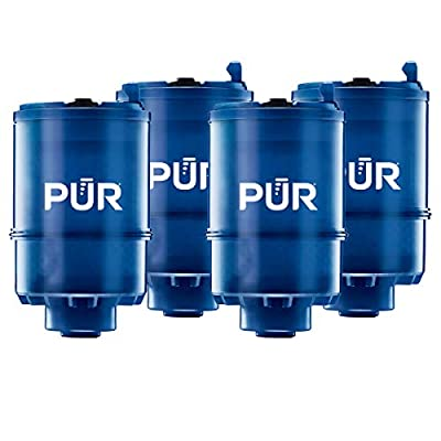 PUR RF9999 MineralClear Faucet Water Filter Replacement for Filtration Systems, 4 Pack, 4 Count