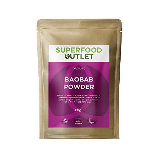 Superfood Outlet Organic Raw Baobab Powder 1kg