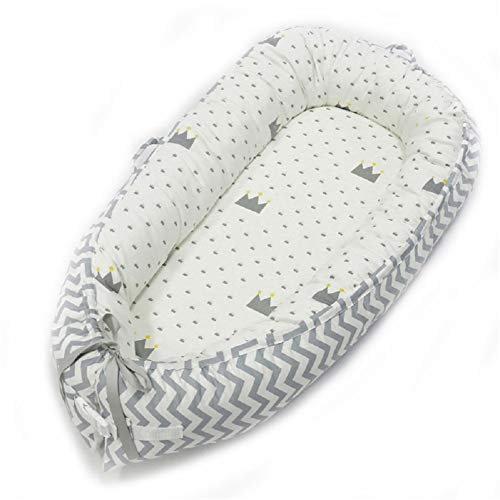 NIUXUAN Pasgeboren babynest, babybed, draagbaar zacht ademend babybed, afneembare hoes Baby Bionic bed voor baby's Peuters - 100% katoenen wiegmatras voor reizen in de slaapkamer (stijl 13)