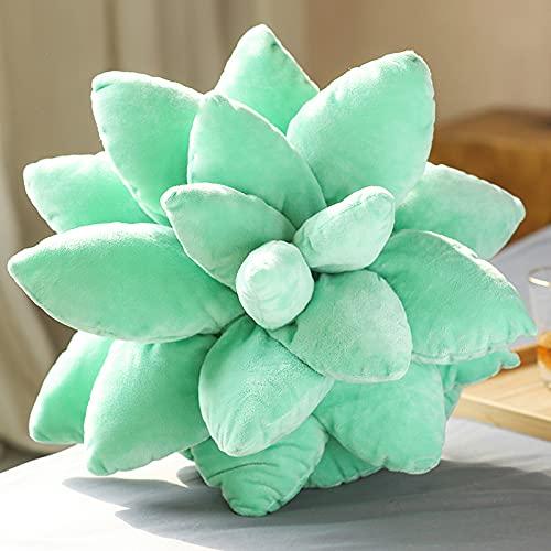 XWSM Cuscino per Cactus con Piante Grasse 3D Cuscini per Piante Grasse Carine per Cuscini per La Camera da Letto Decorazione per La Casa novità Cuscino in Peluche, Peluche a Forma di Cactus