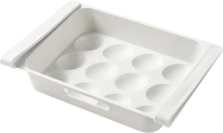 Hislaves Refrigerator Egg Tray Leak-Proof Fresh Preservation Egg