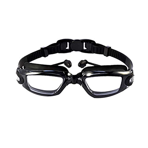 Peyan Swimming Goggles for Men Women Adults - Best Non Leaking Anti-Fog UV Protection Clear Vision - Goggle Ear Plugs