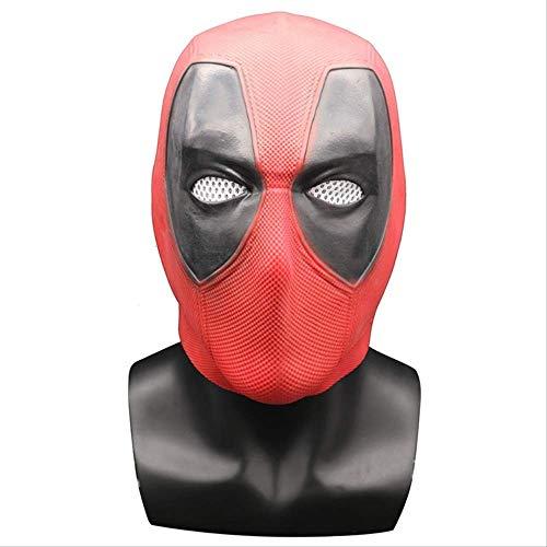Deadpool Mask Deadpool Headgear Revenge Alliance Máscara Halloween Horror Latex Deadpool 1