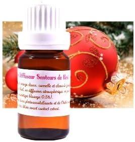 Synergie - Mélange D' Huiles Essentielles Senteurs de Noël (10ml) - Idéal diffuseurs, humidificateurs, brûle-parfums,...
