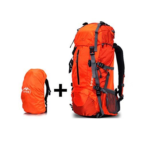 Outdoor Wanderliste, Sonnenaufgang, Reiten, Langlauf, Querfeldeinschulter, Ultraleichter Rucksack, Bequeme Trage 40L (Free Waterproof Cover)