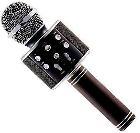 BRIX Bluetooth Karaoke Microphone 3-in-1 Portable Handheld Karaoke Mic Speaker for Android/iPhone/PC or All Smartphone