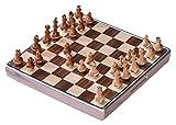 LULIJP Tablero de Madera de ajedrez Ajedrez Armory Tumbler Design Chess Set Ornamentos Juegos de Mesa Exquisita para Hombres y jóvenes