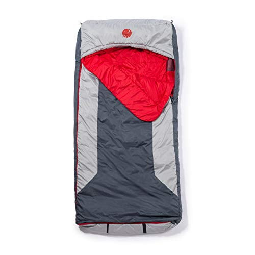 OmniCore Designs Multi Down Hooded Rectangular Sleeping Bag (10°F / -12.2℃) with 4pt. Compression Stuff Sack
