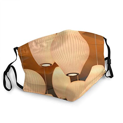 GNR-KGRL Face Mask - Breathable Comfort - Dust UV Sun - Fully Machine Washable - Reusable and Adjustable Protective Fabric - Dust Filter Pocket - Lamp Shade