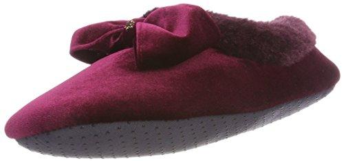 flip*flop Couchy Bow Damen Hausschuhe, Rot (Sangria 0654), 40 EU