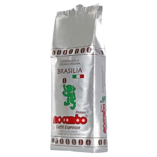 Mocambo Brasilia Crema e Aroma, 1000g ganze Bohne, 6er Pack