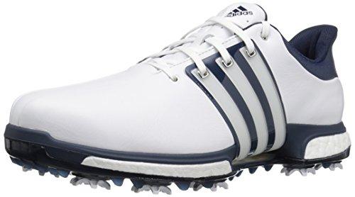 adidas Men's Tour 360 Boost Ftwwht/Std Golf Shoe, White, 9 M US