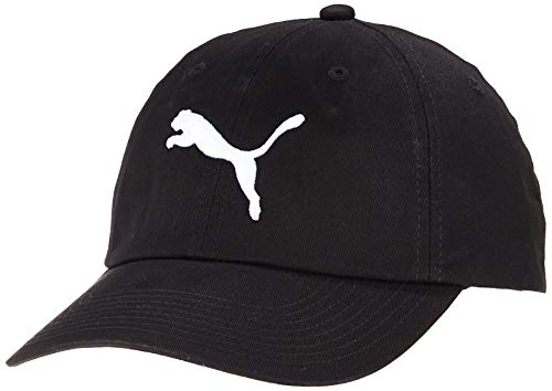 PUMA cap Ess, Cappello Unisex Adulto, Nero (Black/Big Cat), Taglia unica