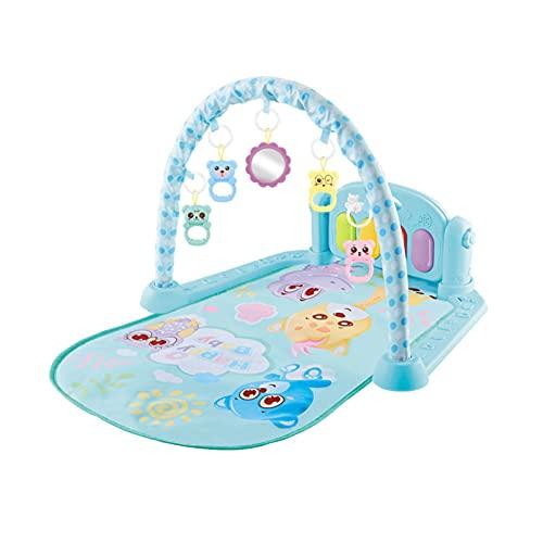 Taitan Baby Play Gym Mat Kick the Piano Juguete para niños pequeños con música y luces Baby Play Mats