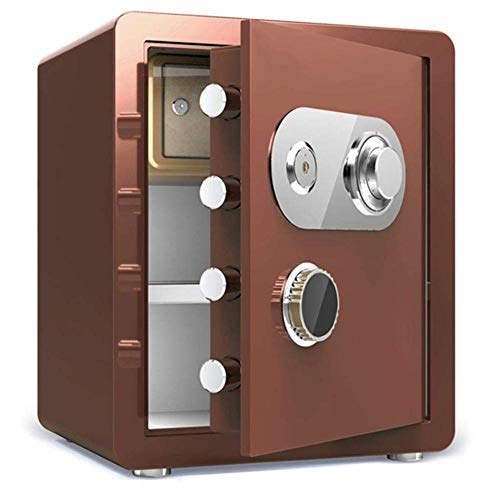 SICURO Cassaforte Casseforti for ignifugo impermeabile chiave meccanica serratura d acciaio Salvadanaio Assicurazione Cassetta di sicurezza dei contanti di sicurezza di sicurezza Soldi sicuri Sicurezz