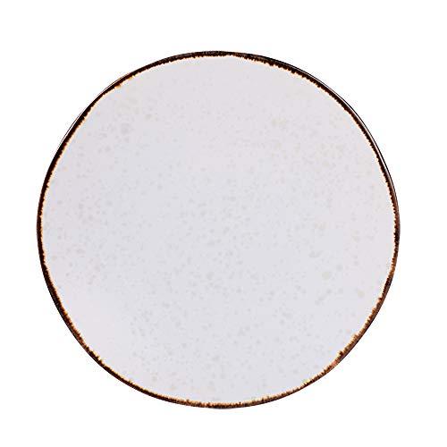 Table Passion - Assiette à dessert Polaire 21 cm (lot de 6)