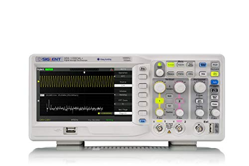 Siglent Technologies SDS1102CML+ Digital Storage Oscilloscope, 100 MHz