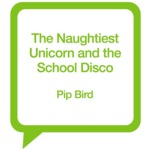 The Naughtiest Unicorn and the School Disco audiobook cover art
