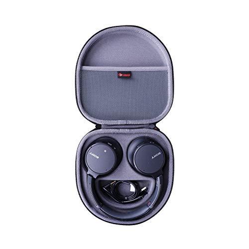 XANAD Hart Reise Tragen Tasche für Sony WH-CH700N / Sony WHCH710N or Sony WH-CH710N kabelloser Noise Cancelling Kopfhörer - Schutz Hülle (Grau)