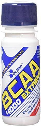 Olimp BCAA 4000 Extreme Shot Anticatabolic Supplement, Orange Flavour (Pack of 20)