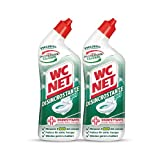 Wc Net - Disincrostante Disinfettante Gel per Sanitari e Superfici, Pulitore Liquido per Wc, 700 ml x 2 Pezzi