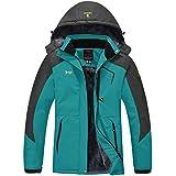 Wantdo Women's Mountain Ski Jacket Windproof...