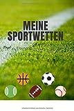 Meine Sportwetten: Sammlung meiner Sportwetten zum Ausfüllen